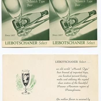Stegmaier Liebotschaner Promo Item - Breweriana