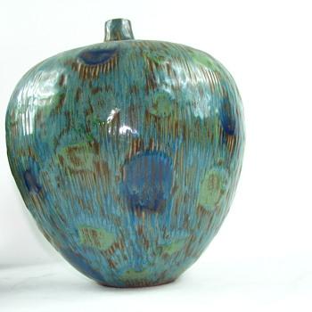 Large pottery vase
