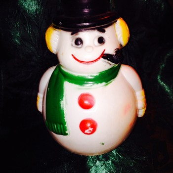 Snowman Baby Toy!
