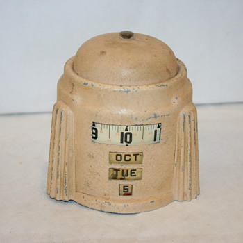 Westclox  4 in 1 Calendar Clock, 1938