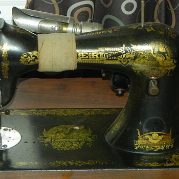 D364881,Singer Sewing machine - Sewing
