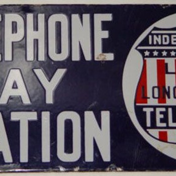 Independent Telephone Pay Station - Telephones