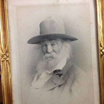 Walt Whitman c-1880 by F. Gutekunst