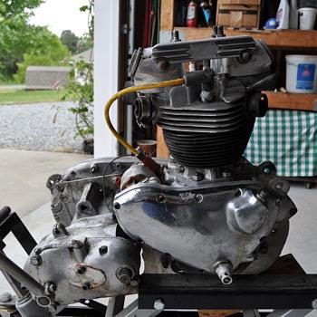 Vintage TR5 Triumph
