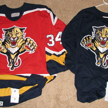Florida Panthers Hockey Team Jersey&#039;s (Game Used)