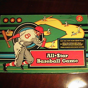1957 Calico All Star Baseball Game - Goodwill Find!