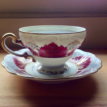 Occupied Japan Saji teacup
