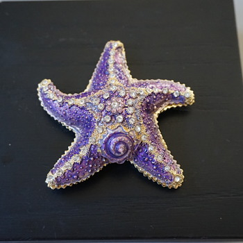 Starfish Trinket Box - Costume Jewelry