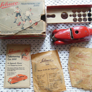 Schuco wind up Telesteering3000 - Model Cars