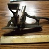 CAST IRON BUSINESS CARD PRINTING PRESS
