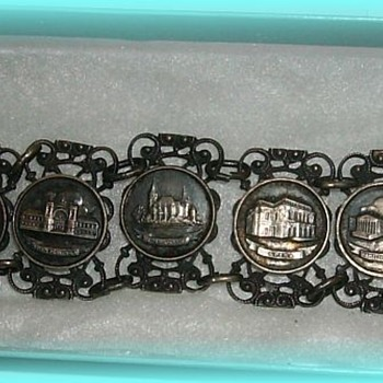 Hungarian ( European ) Metal  Jewelry Bracelet - Costume Jewelry