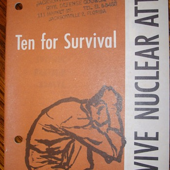 Surviving a Nuclear Attack Manuals