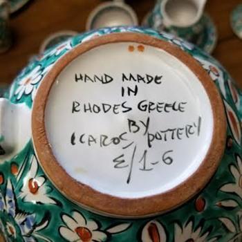 I.C.A.R.O.S. - IKAROS Pottery