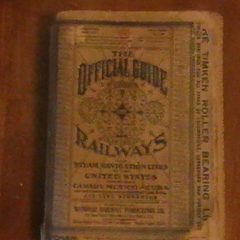 Railroad Journal - Railroadiana