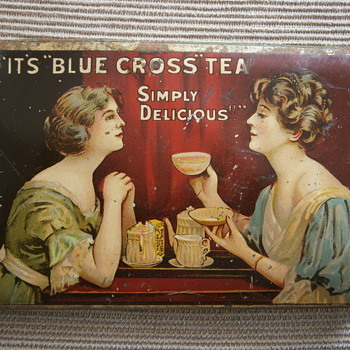 Tea Boxes - Advertising