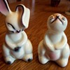 Bunny salt and pepper shakers MADE IN USA #1069- any ideas who made them?