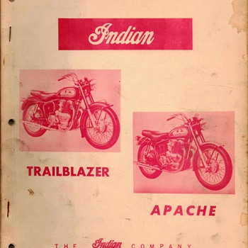 1957 - Indian Motorcycles Repair Manual