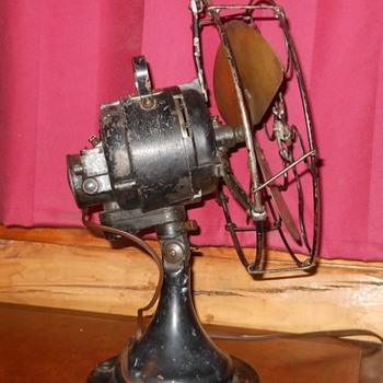 Century Model 250 Electric Fan Circa 1915-1920 - Tools and Hardware