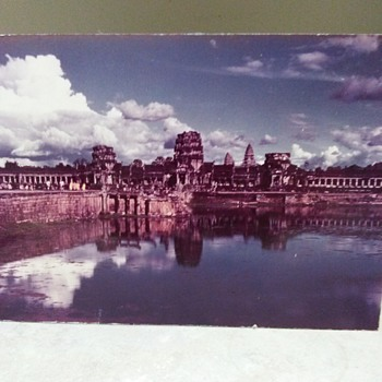 ANGKOR WAT MOUNTED PHOTO