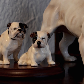royal doulton K2 english bulldog  - Animals
