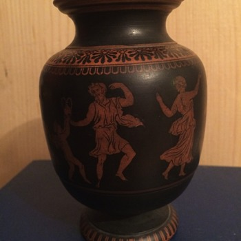 Greek style pottery