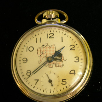 Toppie (Promotion For Top Value) Pocket Watch