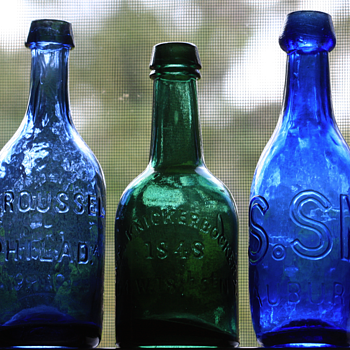 <<<<<Old Pontiled Soda Bottles>>>>> - Bottles