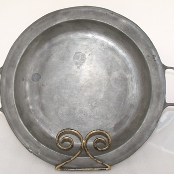 Vintage Real Pewter Tray