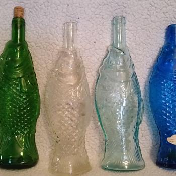 my fish bottles  - Bottles