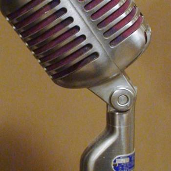 1951 Unidyne 55S Microphone Elvis Type
