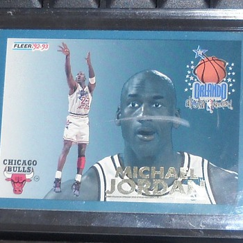 Michael Jordan 92-93 Fleer All-Star - Basketball