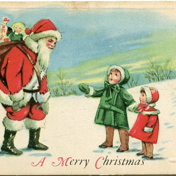Vintage Christmas Postcards - Postcards