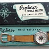 "1954 ""Explorer"" Compass Wrist Watch & Original Box"