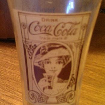 Coca Cola Flair Glass