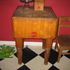 wartime era butcher block