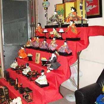 My first Hinamatsuri - Dolls