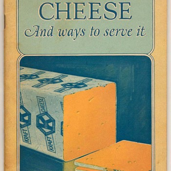 1920's - Kraft Cheese Recipes Booklet - Books