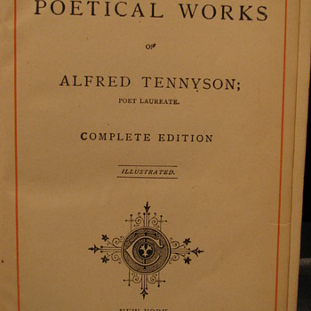 Info for Tennyson's Poem's - Books
