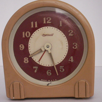 Ingersoll Alarm Clock - Clocks