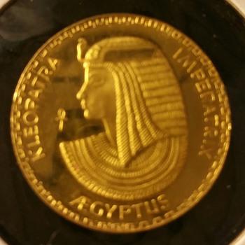 Kleopatra Imperatra Aegyptus Gold Medal