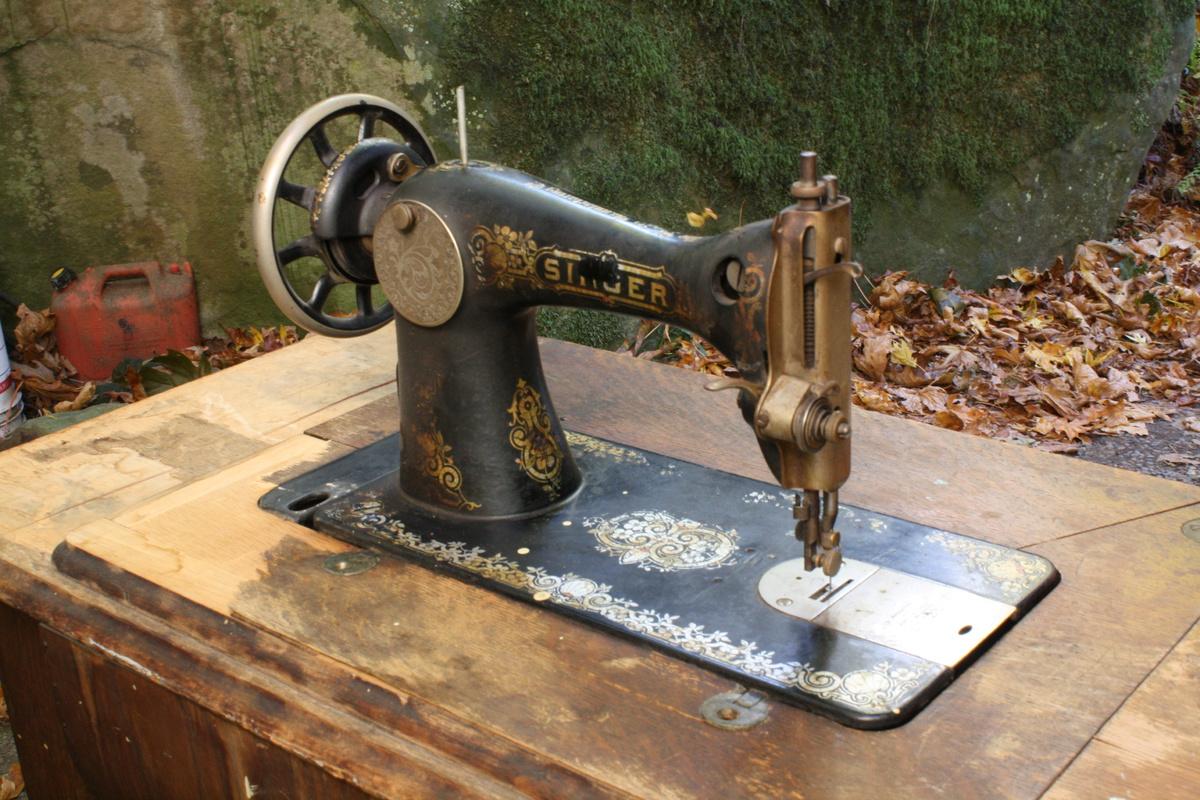 1914 singer sewing machine