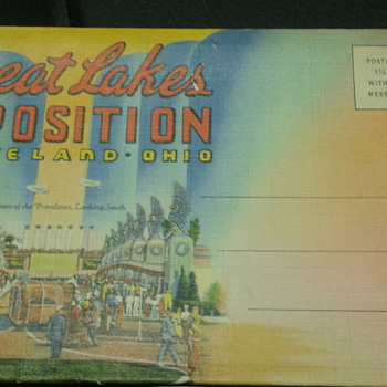 1936-1937 Great Lakes Exposition Postcards