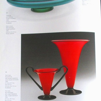 WMF VERSION OF TANGO GLASS: A RARITY - Art Glass