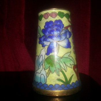 LITTLE CLOISONNÉ JAR - Asian