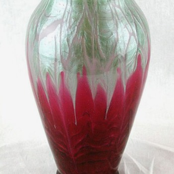 Loetz Flamarion Vase c.1907 - Art Glass
