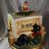 Tele-Vision (Pennwood) Organ Grinder Ceramic Numechron June and August 1949