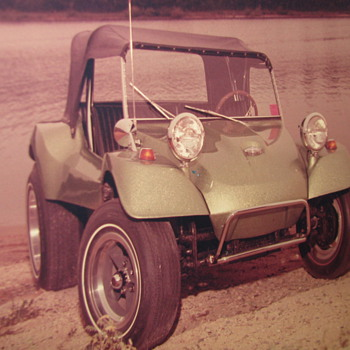 Vintage 8x 10 Photo of VW Dune Buggy - Photographs