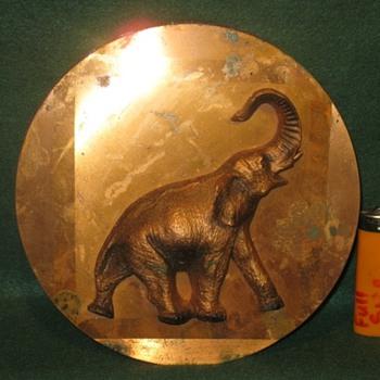 beautiful 100% copper elephant