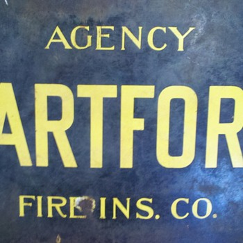 Hartford fire insurance Sign - Signs