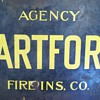 Hartford fire insurance Sign